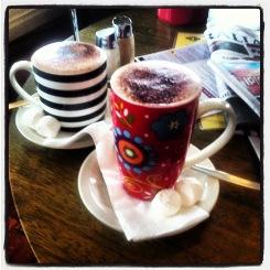 hot chocolate drinks