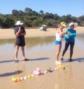 Tidal River Duck Race