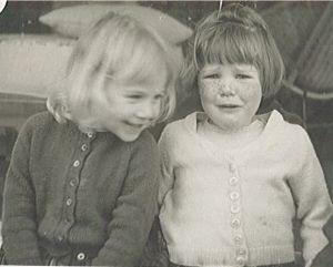 Carlina and Susan 1963