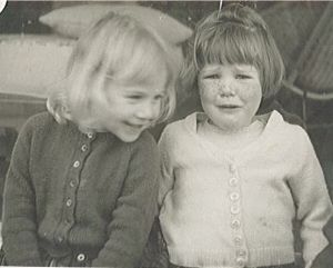 Carlina and Susan 1963